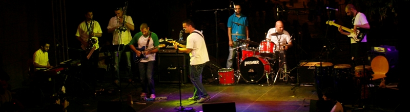 Ghazi Abdel Baki and his band- By Hanibaael