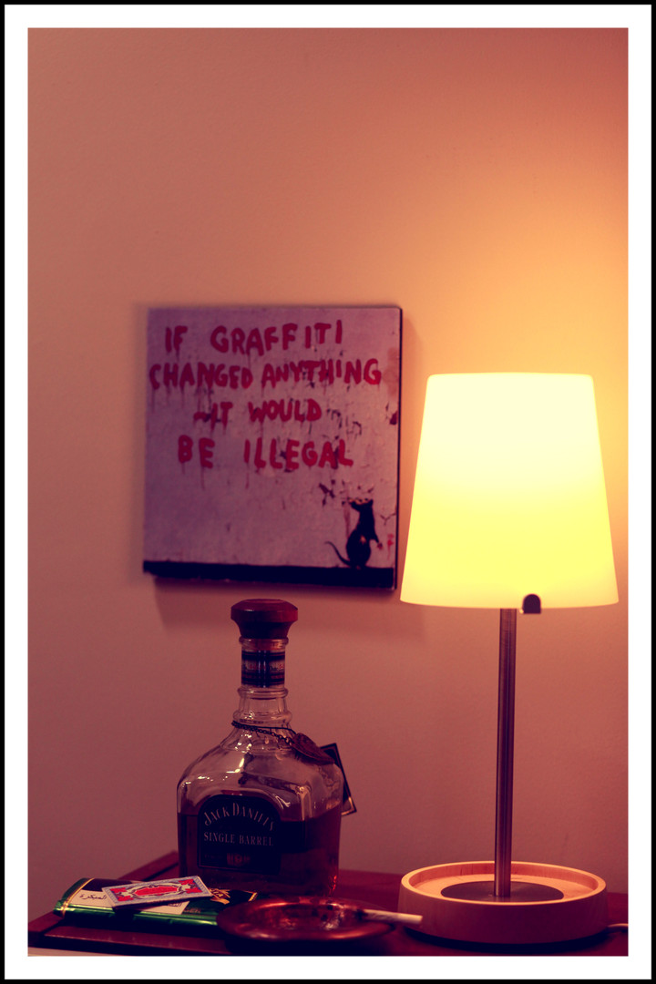 Banksy and JackDaniels