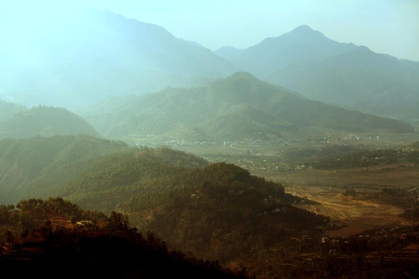 الهضاب ما بين النيبال والصين - عدستي
