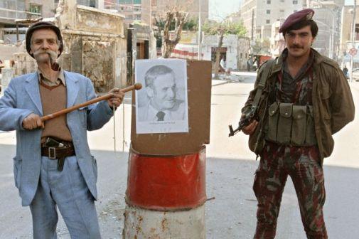جندي سوري في بيروت