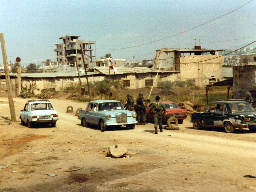 Checkpoint_4,_Beirut_1982
